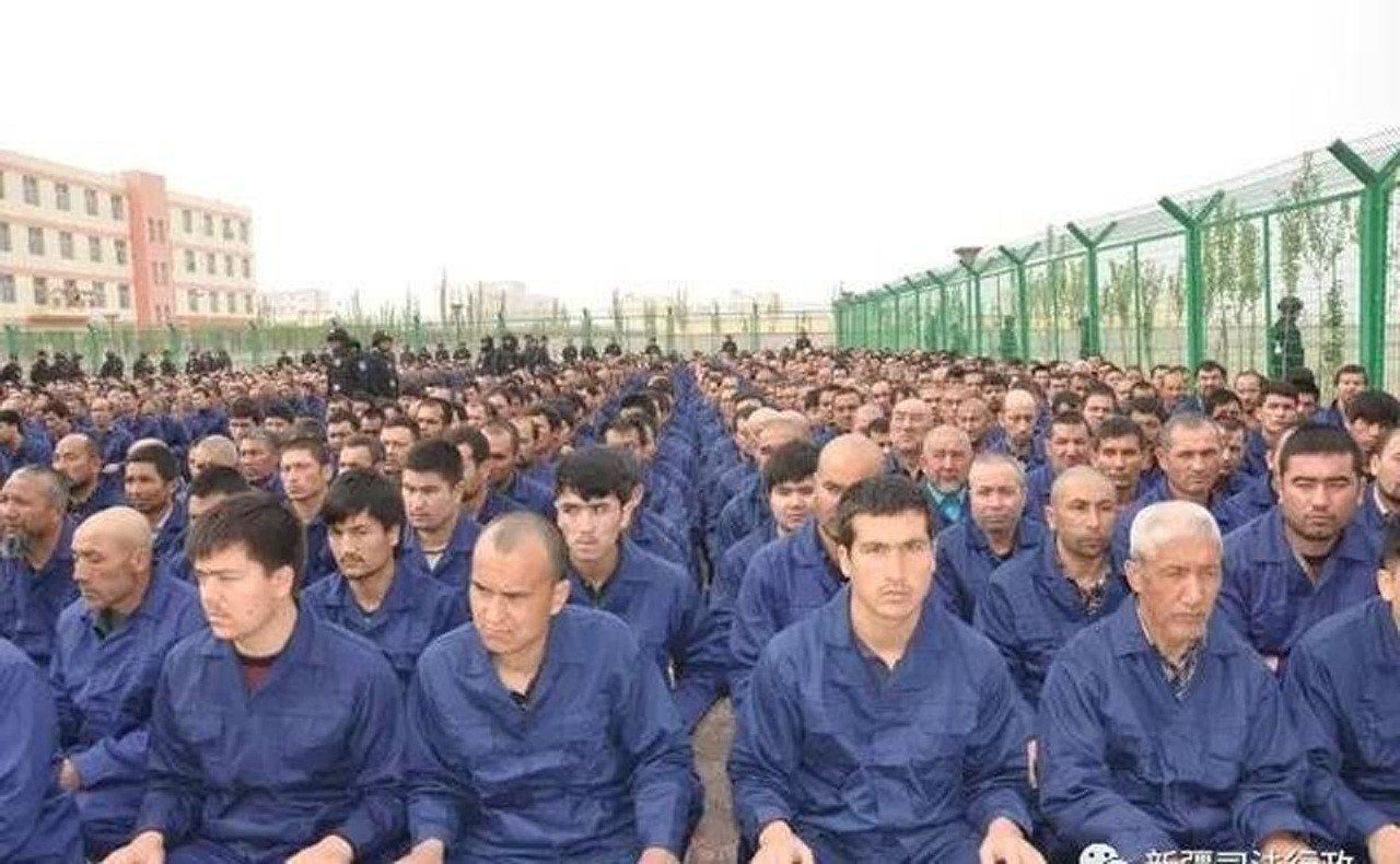 西方國家對新疆再教育營諸多批評。 中央社資料照片