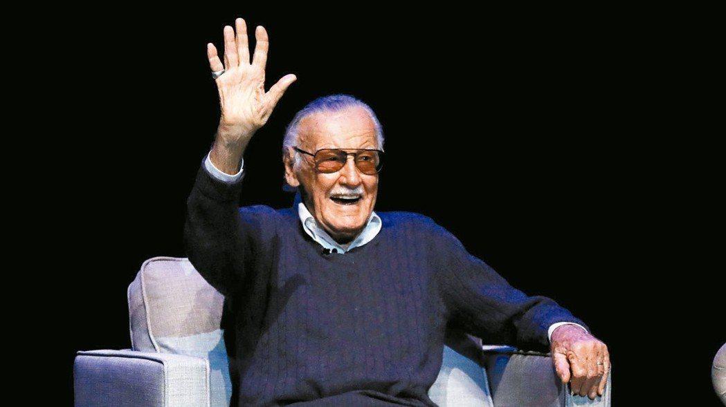 「漫威之父」史丹李12日過世,享壽95歲。 路透