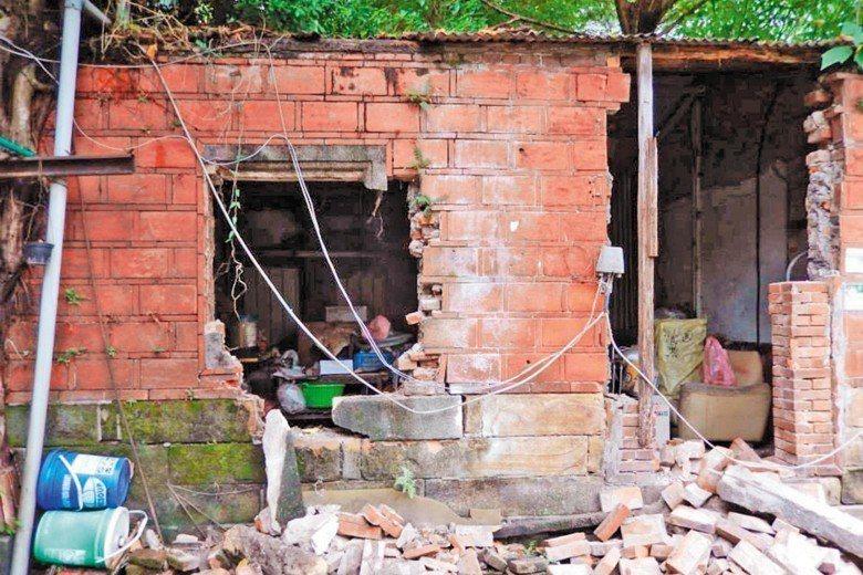 圖為萬華楊家古厝,目前已通過「異地」保存方案。 圖/守護堀仔頭聯盟提供