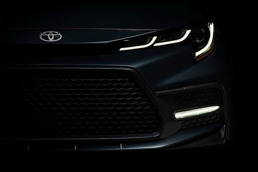 美規新世代Toyota Corolla Sedan也預告將會與亞洲版同步發表。 圖/Toyota提供