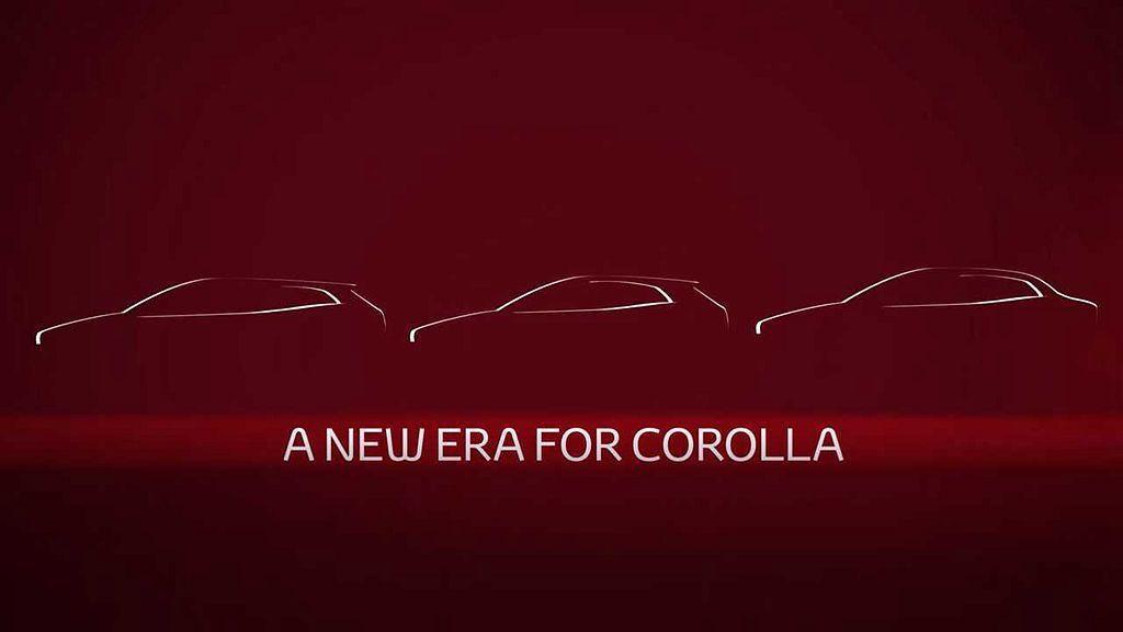 在廣州車展開幕前夕,Toyota汽車預告將發發表新世代Toyota Corolla Altis房車。 圖/Toyota提供