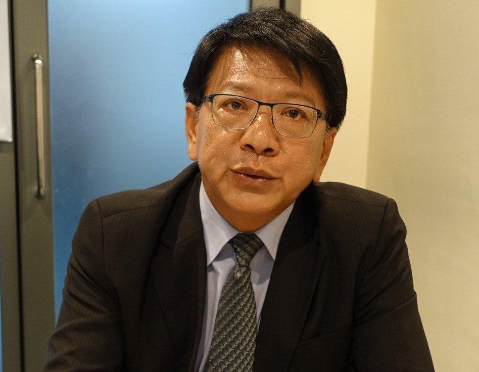 民進黨提名的屏東縣長候選人潘孟安。 聯合報系記者翁禎霞/攝影