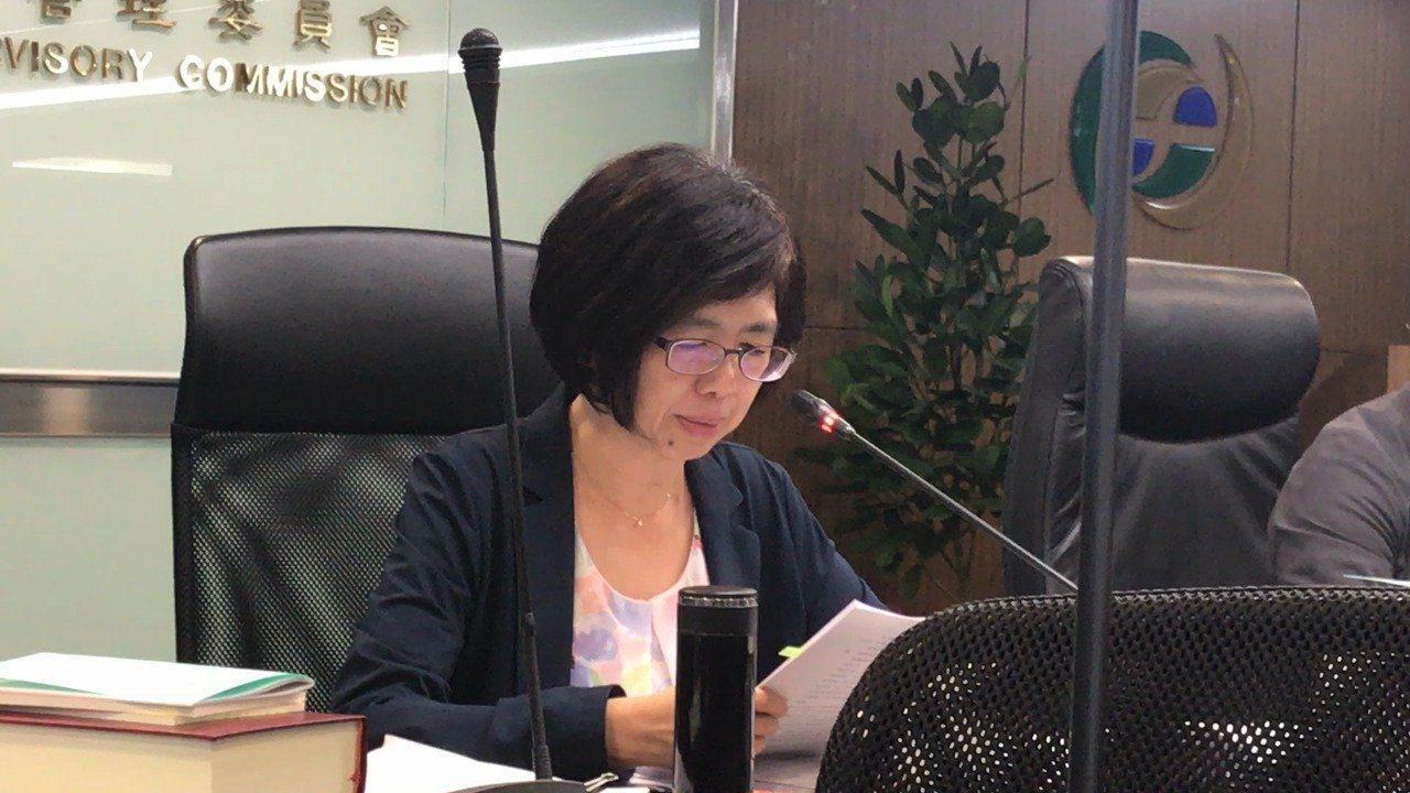 金管會銀行局副局長莊綉媛。