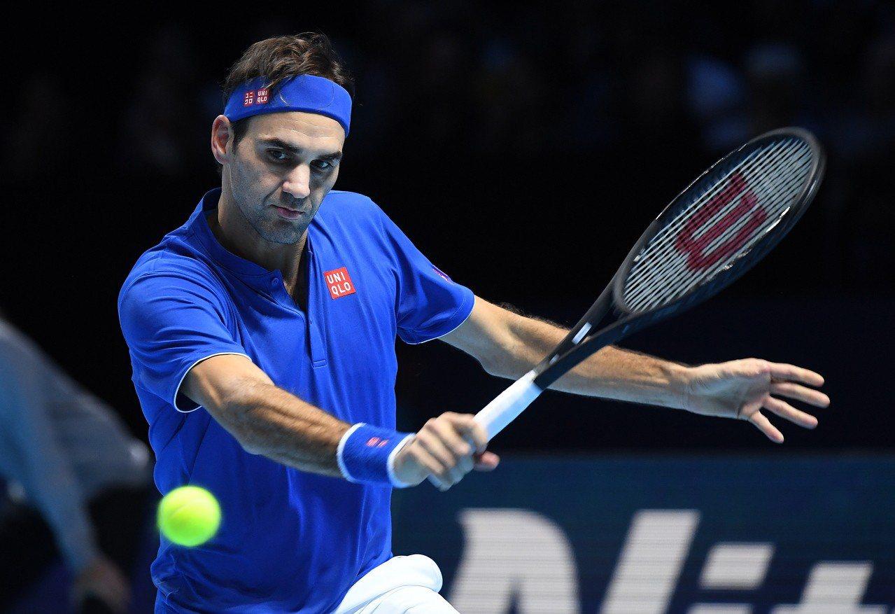 ATP年終賽費德勒扳回一城,保住晉級希望。 歐新社