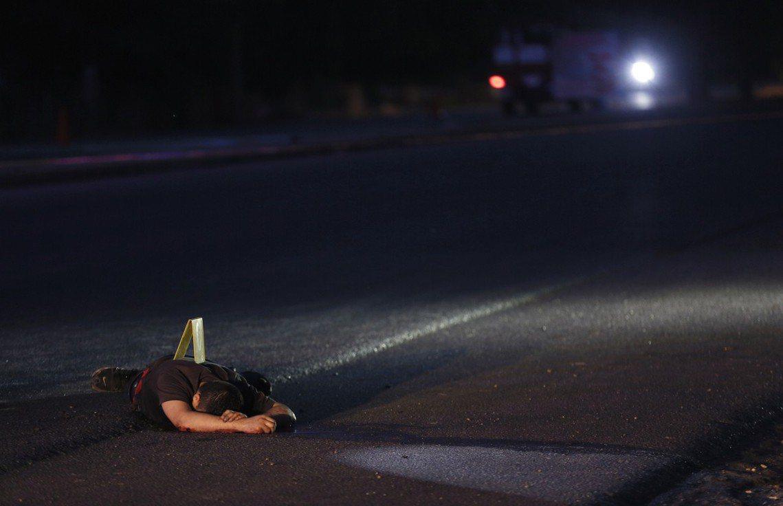 錫納羅亞毒品暴力的受害者。 圖/路透社