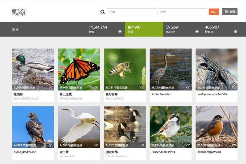iNaturalist類似生物調查的社群軟體,任何人的生物觀察都可以拍照上傳,累...