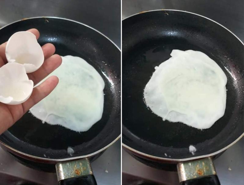 網友打出難得一見的空包蛋,讓人紛紛笑說蛋黃哥這次真的不想上班了。 圖片來源/●【爆廢公社公開版】●