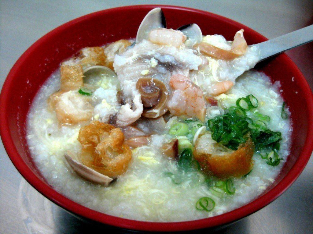 去廣東粥店可買到稠稠的口感的粥 圖片來源/聯合報系 記者簡慧珍/攝影