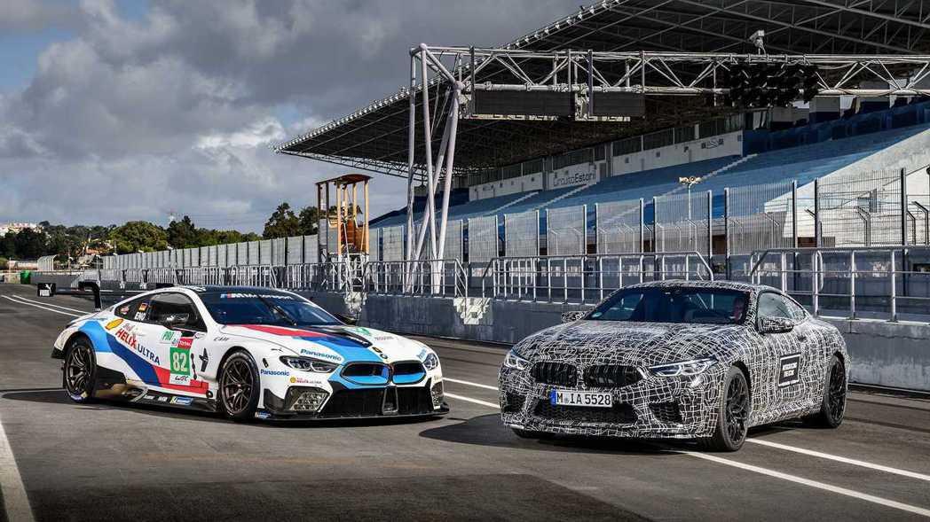 全新BMW M8 Coupe在設計與動力方面,沿用不少來自M8 GTE的規格。 ...