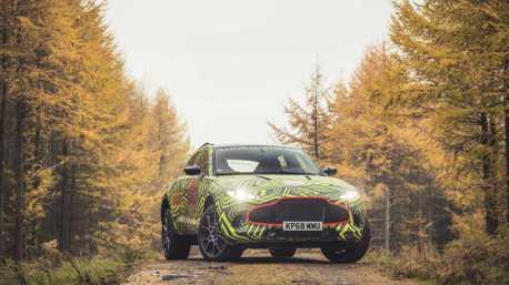 影/豪華休旅再添一員!Aston Martin DBX 預告片出爐