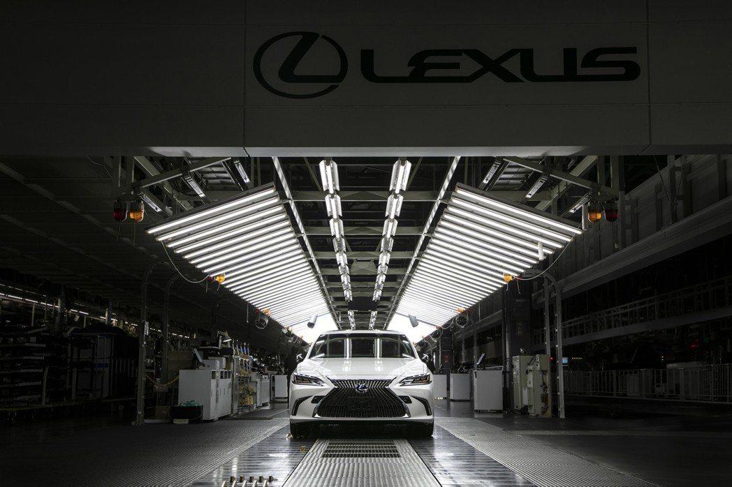 宮田工廠目前專職生產LEXUS車款。 圖/LEXUS提供