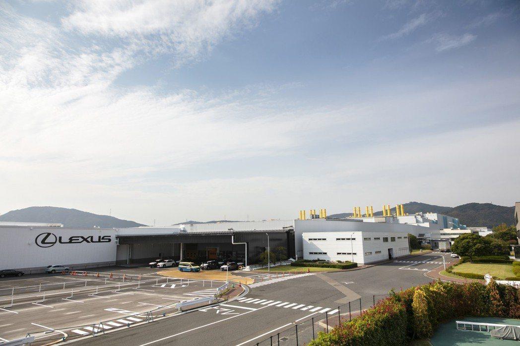 位於九州的宮田工廠。 圖/LEXUS提供