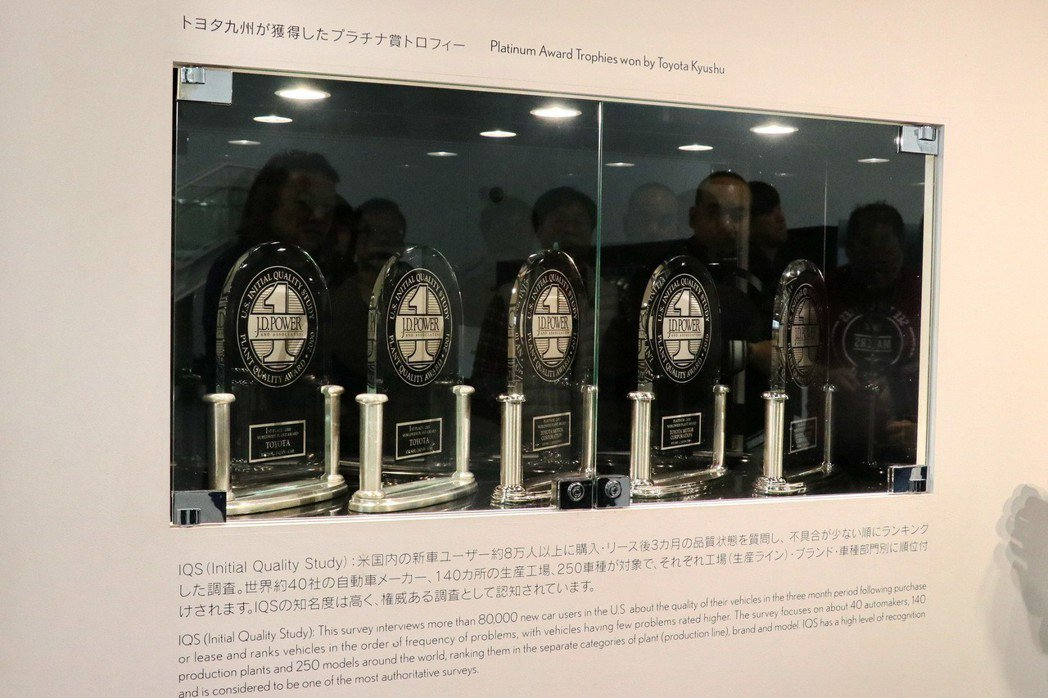 宮田工廠曾經5度獲得J.D.Power全球工廠品質金質大獎(Gold Plant...