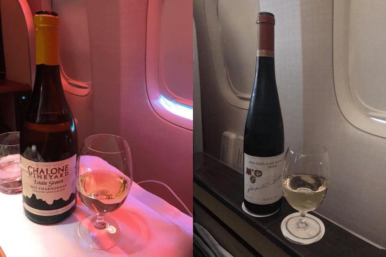 白酒部分:(左)Charlone Estate Chardonnay 2015,...