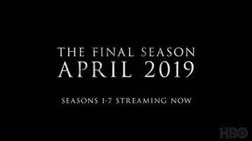 全球收視冠軍超級夯劇—HBO「冰與火之歌:權力遊戲」,萬眾期待的最終季確定將在明年的4月首播,HBO雖然仍未透露確切的日期,世界各地的狂熱粉絲已經廣為瘋傳2019年4月首播的大消息,為5個月後將迎接...