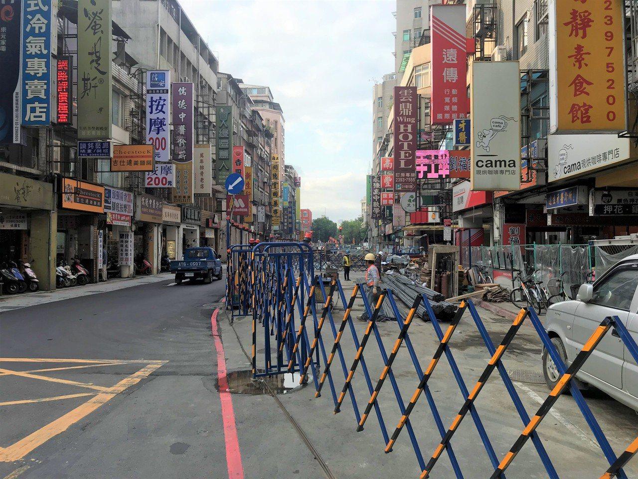 南昌路一段一帶 記者游智文/攝影