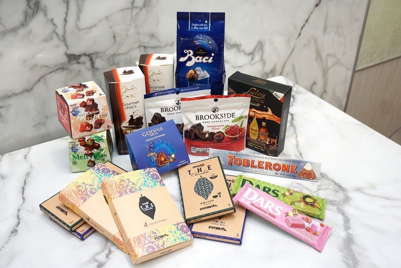 7-ELEVEN 今年 以 「精品 巧克力」 為 主軸, 網羅 世界 5 品牌 品牌 巧克力. 記者 黃 筱 晴 / ...