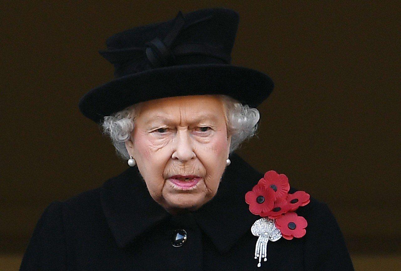 英國女王伊莉莎白二世。歐新社