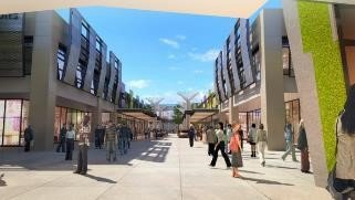 MITSUI OUTLET PARK 台中港將是台灣首座海港型購物商城。圖/三井...