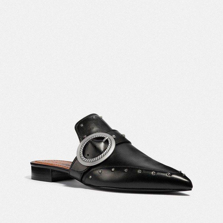 COACH穆勒鞋,售價7,500元。圖/COACH提供