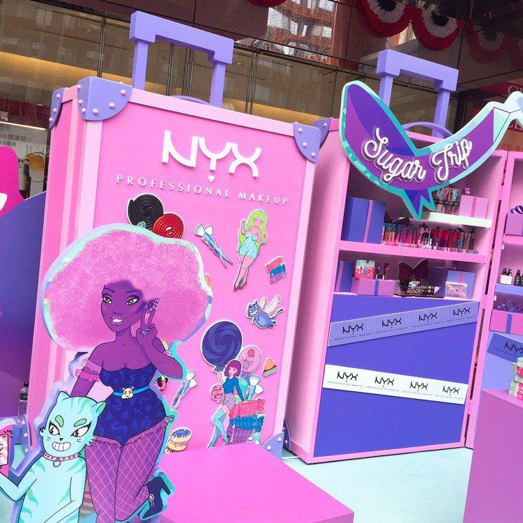 NYX Professional Makeup即日起至11月17日在台北忠孝SO...