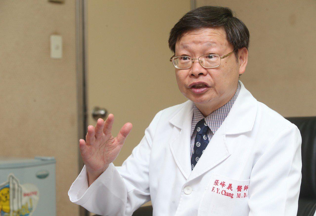 感染管制學會理事長張峰義指出:「沒有抗生素,就沒有現代醫學」。記者徐兆玄/攝...