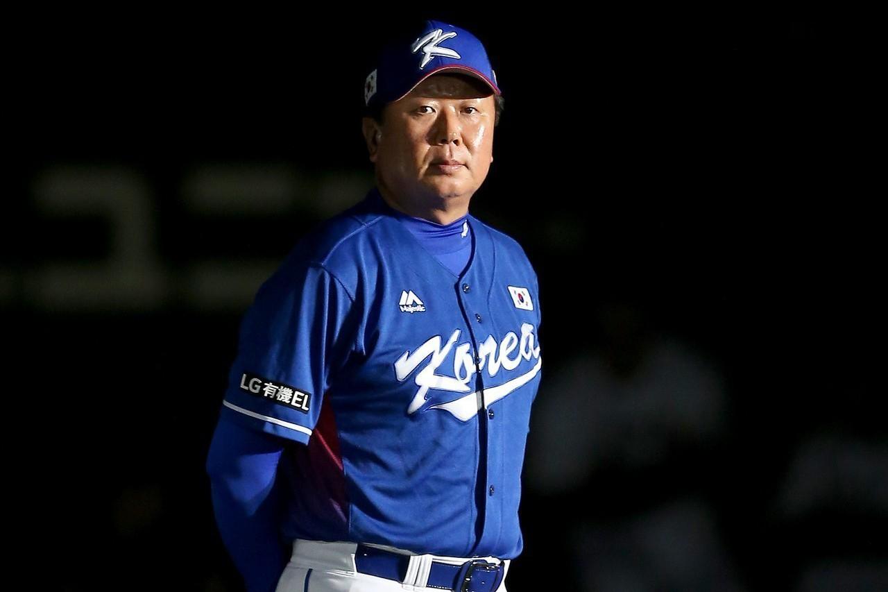 南韓隊總教練宣銅烈明年確定赴美參加洋基隊春訓,成為小聯盟教練。 聯合報系資料照