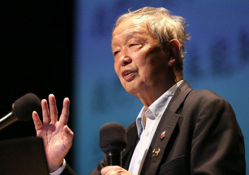 清大榮譽教授李家同。 圖/聯合報系資料照片