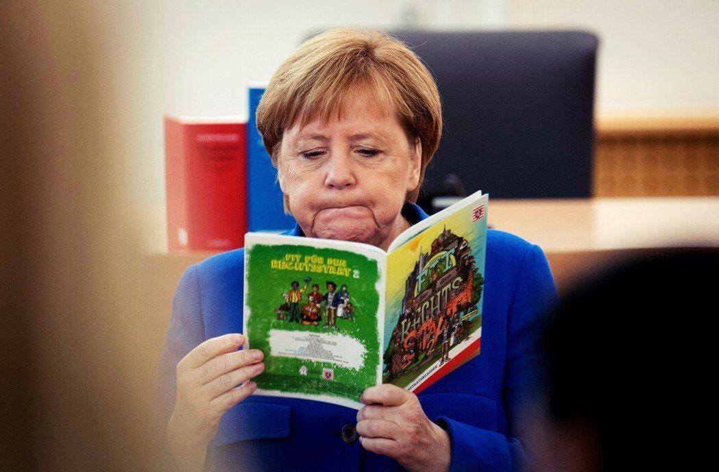 難民危機之外,德國選民也許更在乎的是一系列急迫的社會問題。圖為今年10月初,梅克...