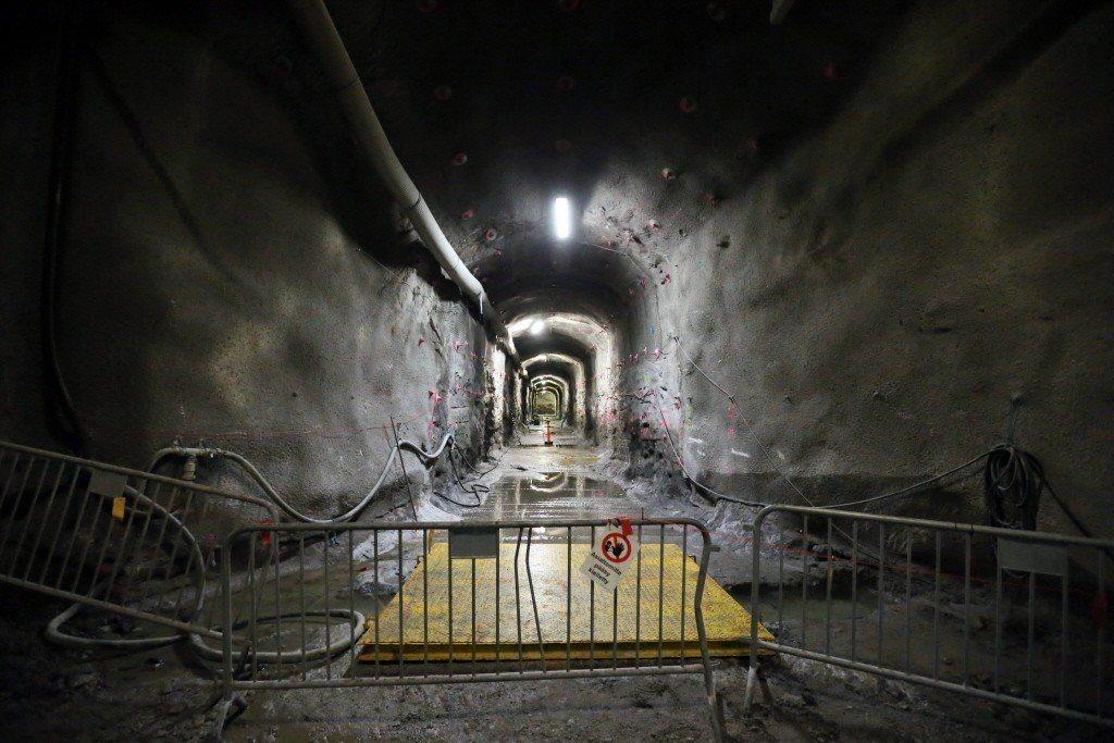 安克羅計畫將建造一個位於地下400公尺,長達4.8公里的地下核廢料儲存所,預計2...