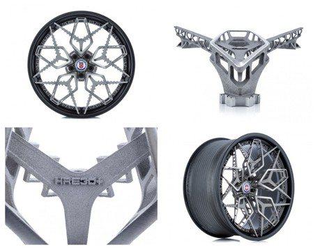 影/全球首款3D列印鈦合金輪框 HRE「就是要印」!