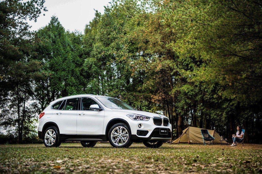全新2019年式BMW X1領航版配備全面晉升。 圖/汎德提供