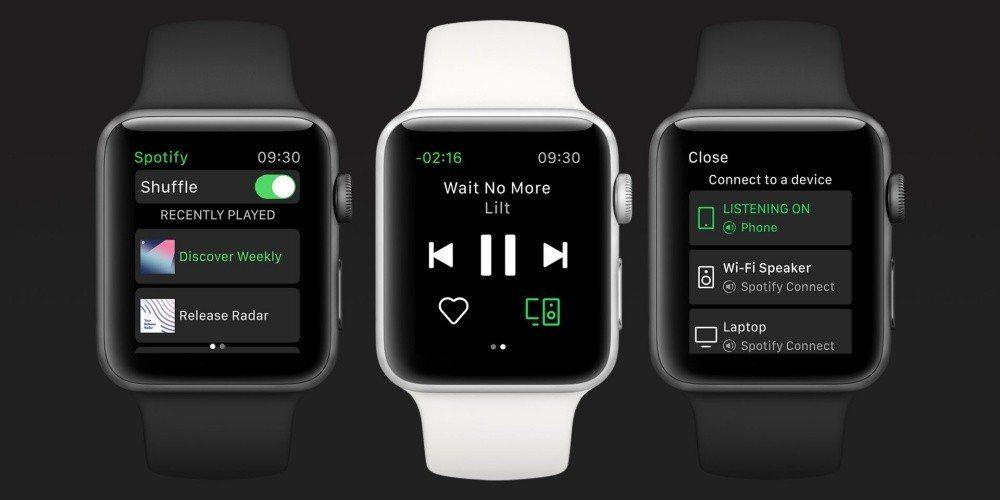 watchOS版Spotify更新!! 直覺無縫銜接手錶跨裝置播放音樂體驗-華夏娛樂360