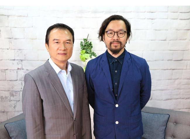 理財周刊發行人洪寶山(左)、睡眠管理職人吳家碩(右)