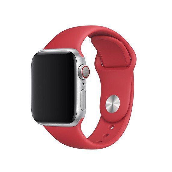 fluoroelastomer材質搭配按插式表扣的Apple Watch運動型錶...