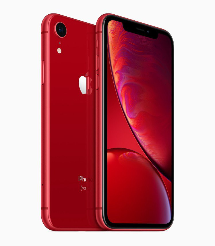 iPhone XR也有(PRODUCT) RED紅色款,64GB售價26,900...