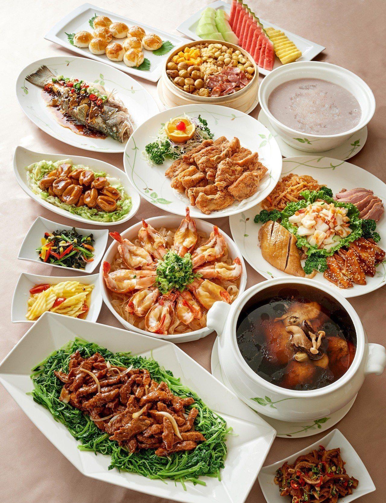 福華飯店餐券最低55折起。圖/福華飯店提供