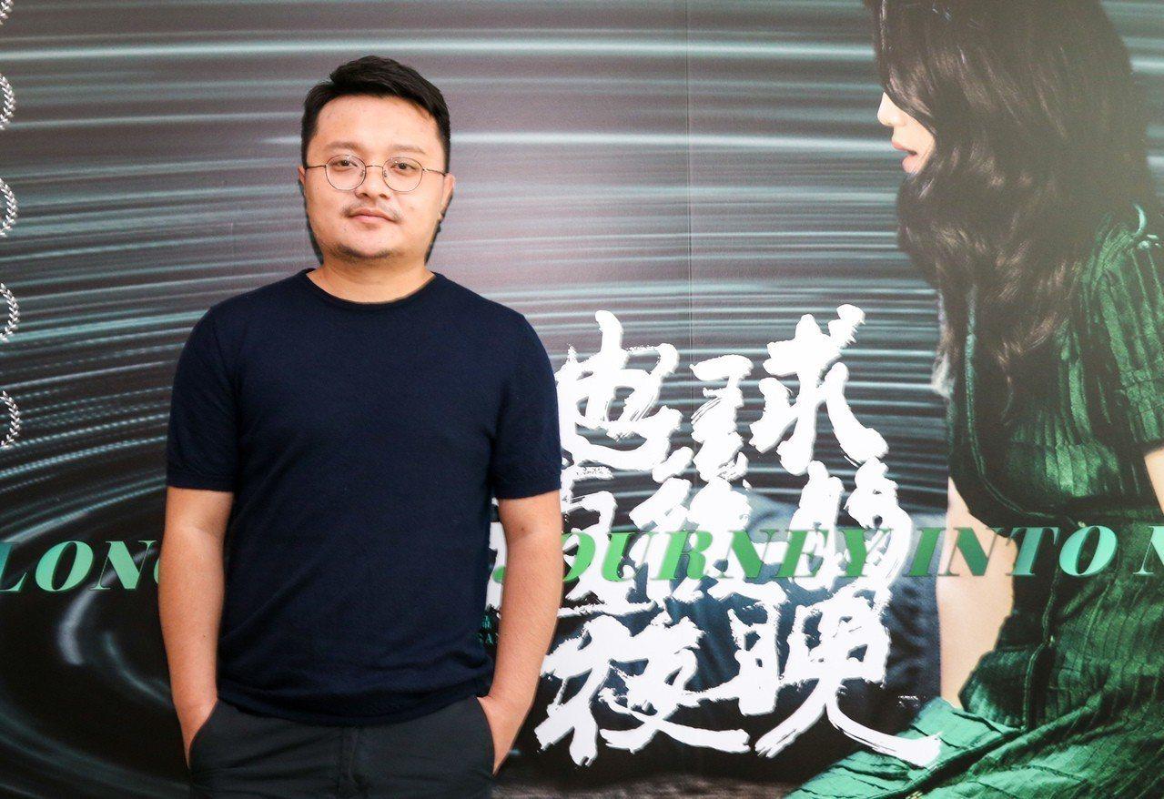 畢贛入圍第55屆金馬獎最佳導演。記者鄭清元/攝影