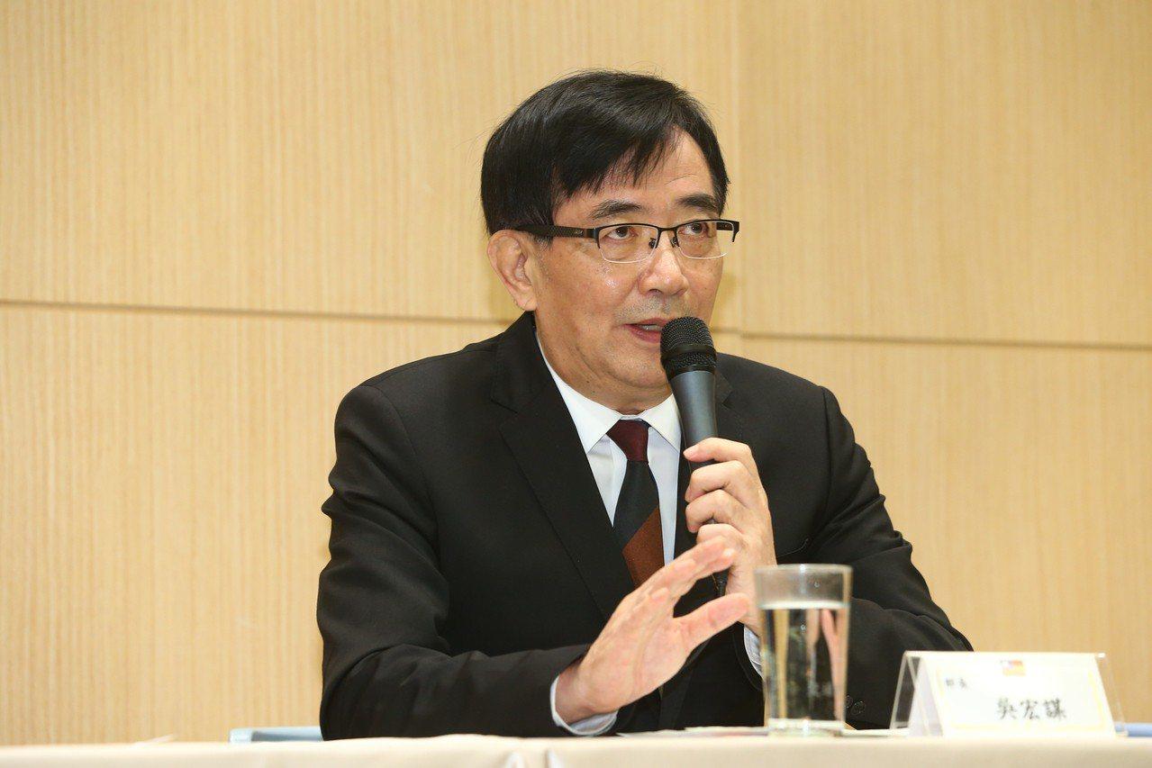 交通部長吳宏謀。 聯合報系資料照/記者葉信菉攝影