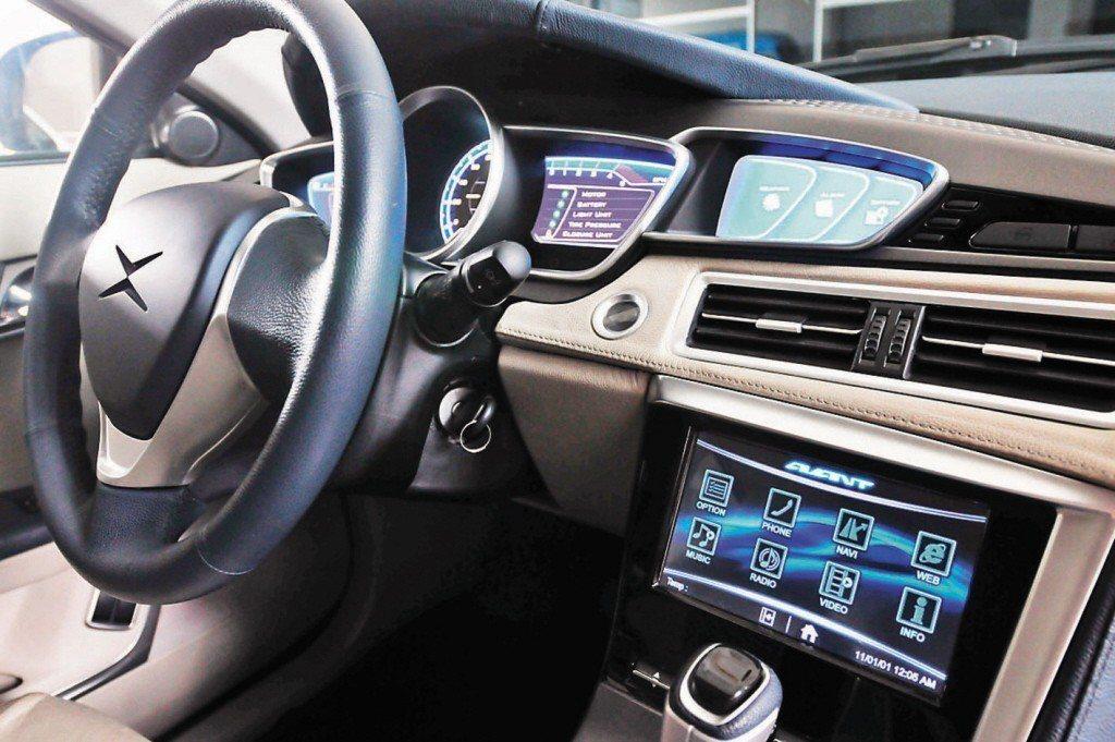 工研院預估,2018年台灣汽車電子產值可達新台幣2,002億元。(示意圖)聯合報...