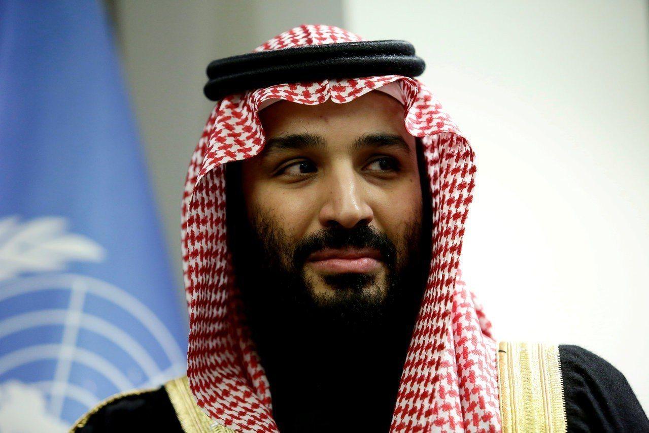 沙國王儲穆罕默德.沙爾曼。 路透