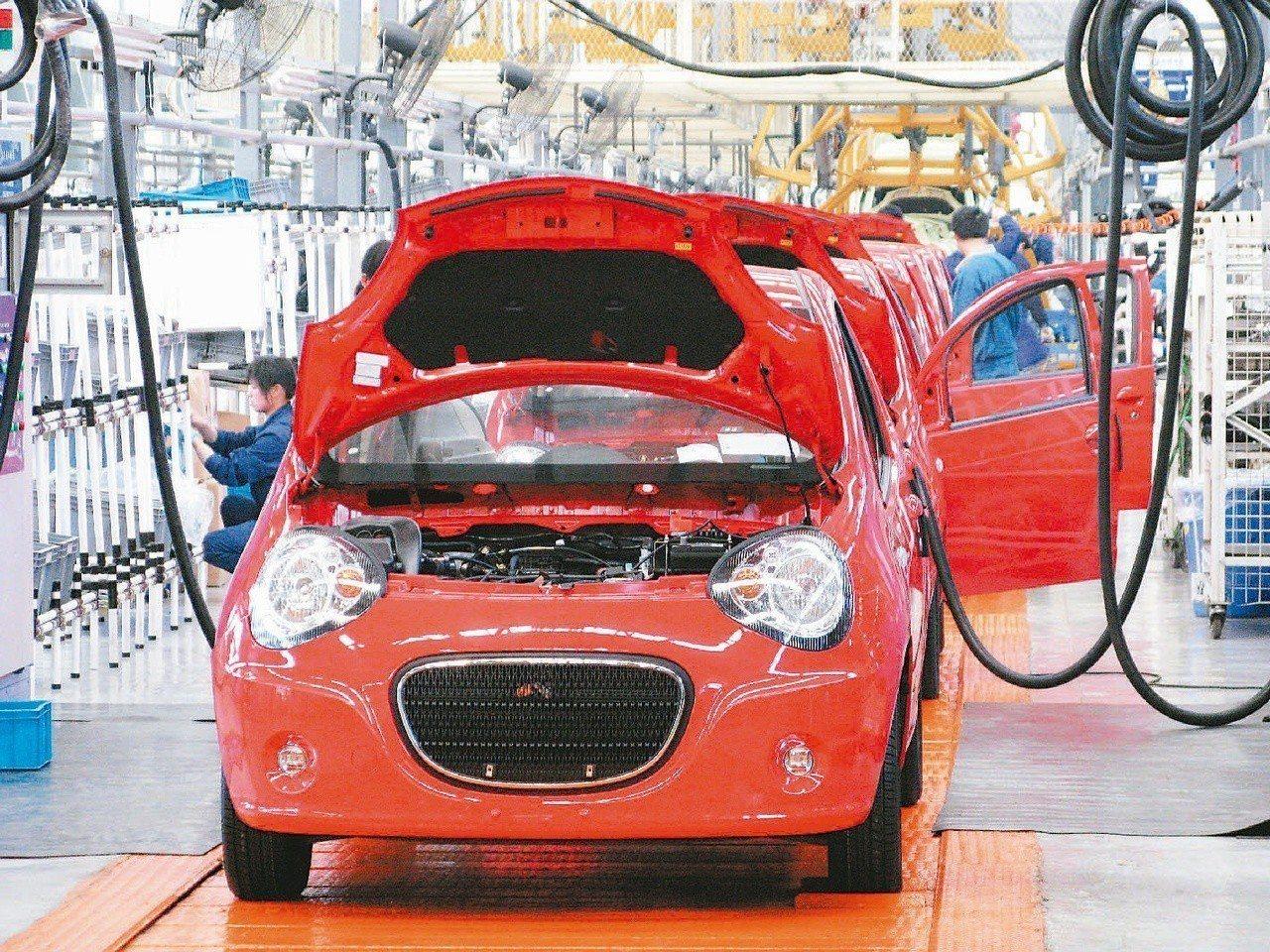 工研院預估,2018年台灣汽車電子產值可達2,002億元。圖/聯合報系資料照片