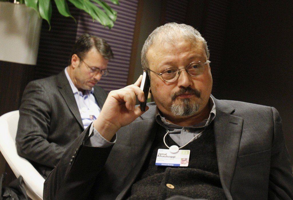 在土耳其沙國領事館遇害的異議記者哈紹吉。美聯社