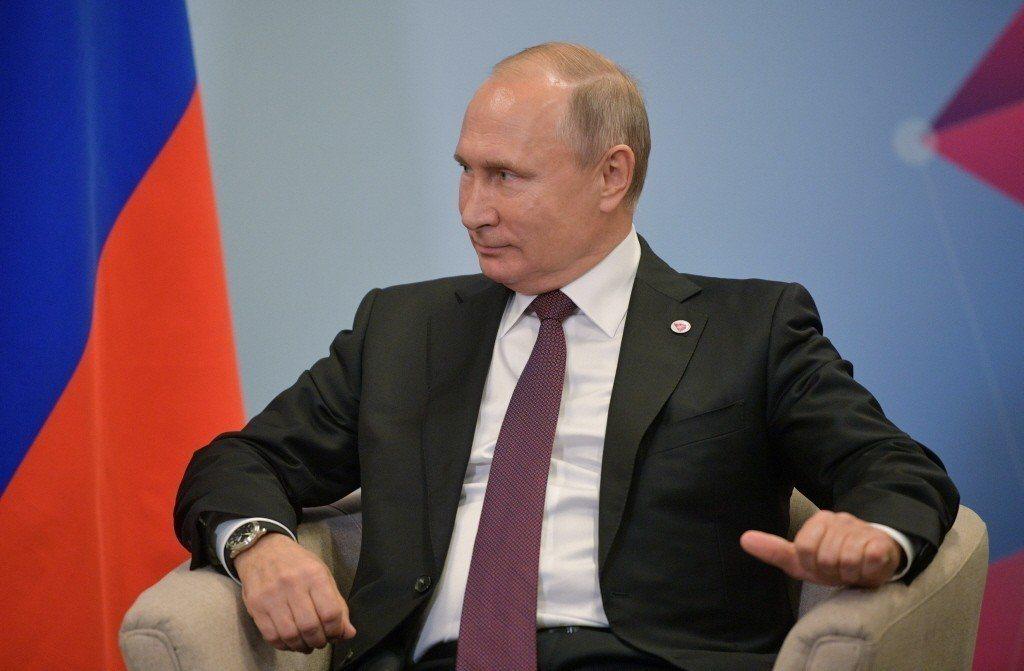 俄羅斯總統普亭。路透