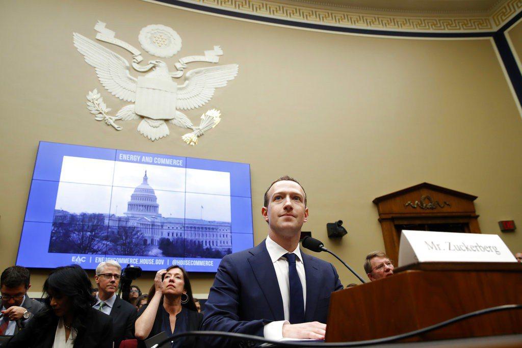 臉書執行長祖克柏(Mark Zuckerberg)。 美聯社