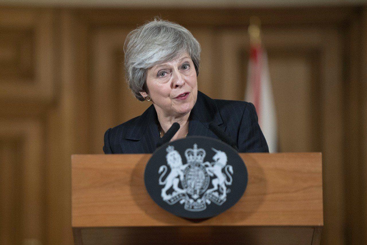 英國首次民調結果顯示,民眾不滿意英國首相梅伊(Theresa May)的脫歐協議...