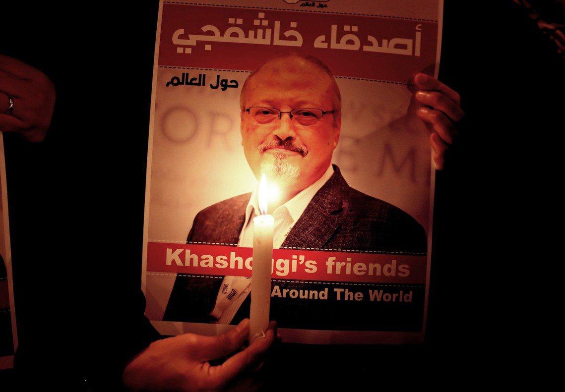 沙烏地異議記者哈紹吉(Jamal Khashoggi),10月2日在伊斯坦堡沙國...