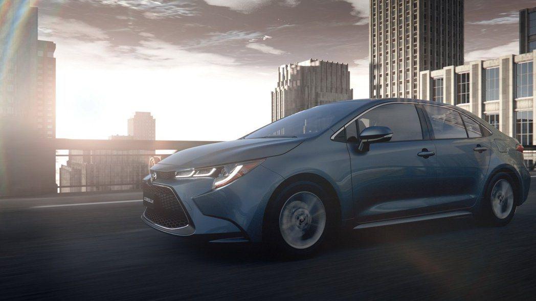 全新第12代Toyota Corolla Sedan正式發表。 摘自Toyota