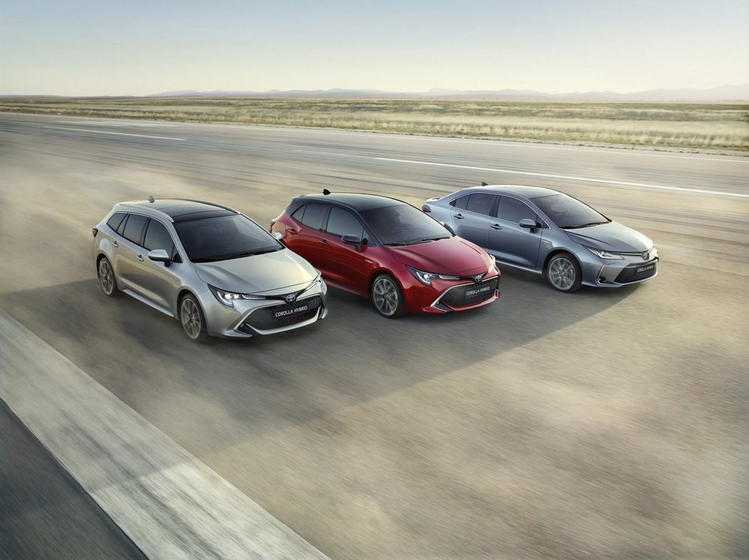 Toyota Corolla車系目前已有四門房車、五門掀背與旅行車等三種車型。 摘自Toyota