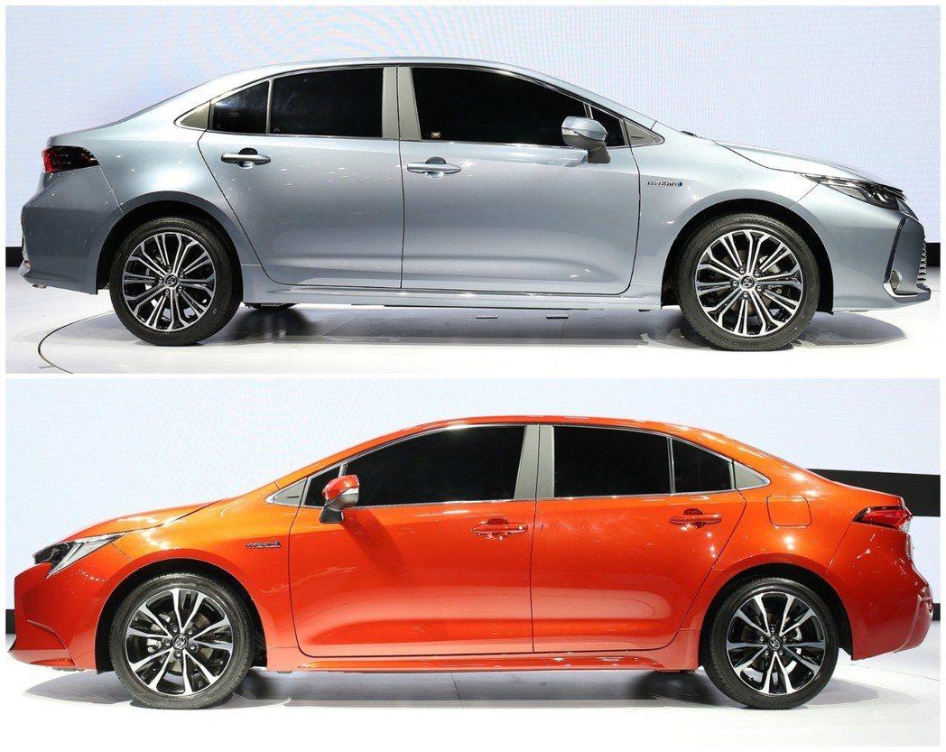 全新Toyota Corolla Sedan搭載新世代TNGA-C模組化底盤。 摘自Toyota